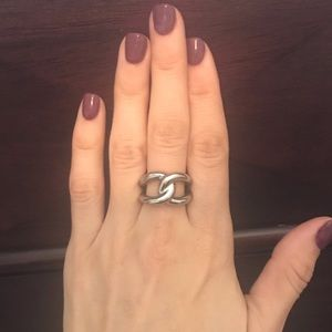 Michael Kors silver ring size 8